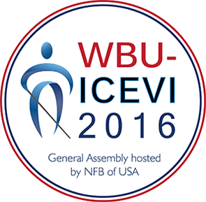 WBU-ICEVI 2016 - General Assembly hosted by NFB of USA