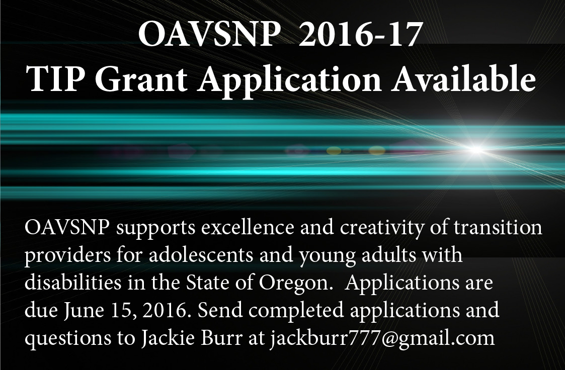 TIP Grant Application