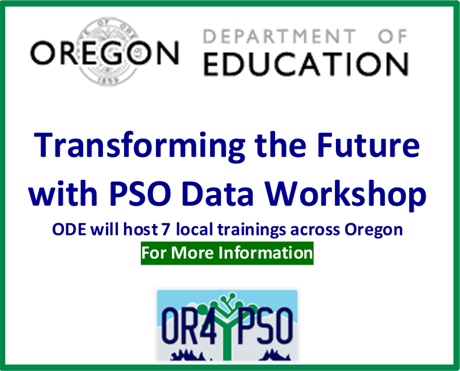 Transforming the Future with PSO Data Workshop