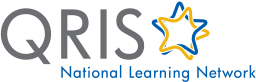 QRIS National Learning Network logo