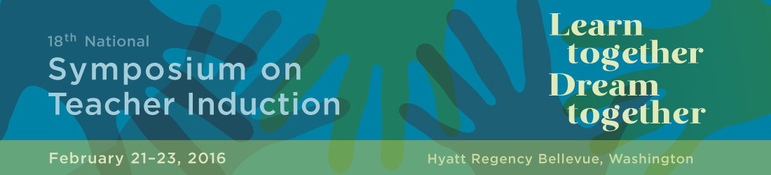 Symposium on Teacher Induction banner